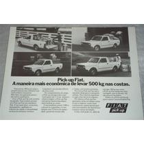 Catalogo Tecnico Fiat Pick Up Caracteristicas Tecnicas 1990