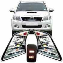 Kit Luz Diurna Daylight Led Hilux 2012 Á 2015