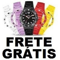 Relógio Troca Pulseira Estilo Champion Frete Grátis