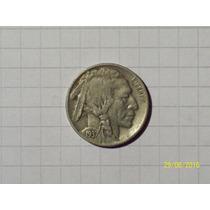 Estados Unidos 5 Centavos Bufalo 1937