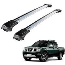 Rack De Teto Nissan Frontier Dupla 2011 A 2015 Thule Edge