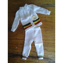 Bebê Reggae Roupa Conjunto Reggae De Tricô Com Leão Branco