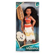 Muñeca Moana Disney Store Tamaño Barbie