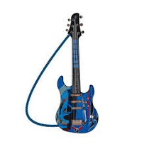 Hot Wheels Guitarra Infantil Luxo Mt 505ahw