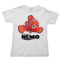 Camiseta Procurando Nemo Procurando Dory Dori Infantil 009