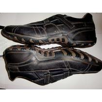 Remato Zapatos Original Skecher Cuero T-10.5. Caballero (43)