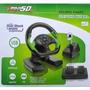 Volante P/ X360/+jogo Forza/ Dual Shock/pedais Progressivos