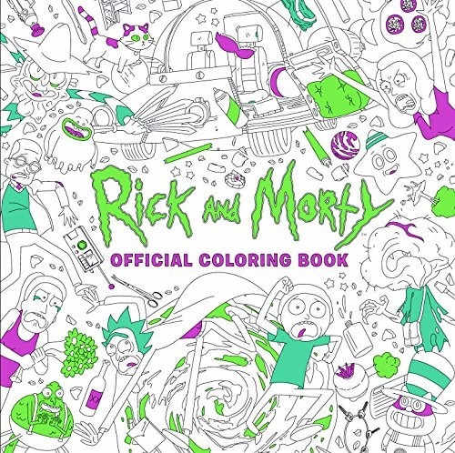 Libro: Libro Para Colorear Rick And Morty **encargo** - $ 12.900 en ...