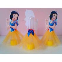 Tubos Golosineros Princesas Disney Souvenir Cumpleaños