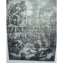 Benito Quinquela Martin - Aguafuerte - Enmarcado