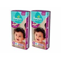 2 Hiperpacks Pañales Pampers Premium Care Todos Los Talles