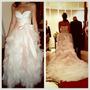 Vestido De Noiva Vera Wang E Arranjo De Cabelo