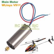Motor Principal + Pinhão Main Motor Helicoptero V911 Wltoys