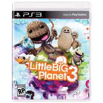 Littlebigplanet 3 Playstation 3 Novo Lacrado A Pronta Entreg