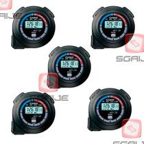 Cronometro Paquete 5 Pza Casio Hs3 Soccer Deportes Crossfit