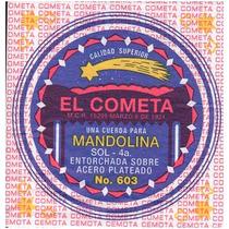 Cuerda 4a El Cometa Para Mandolina, 12 Piezas Cobre 603