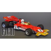 F1 Jochen Rindt Campeon De 1970 En El Lotus 72c Escala 1/18