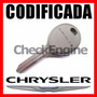 Copia Llave Codificada Chrysler Stratus Sebring Caravan Chip