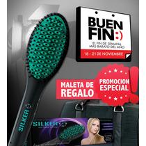 Cepillo Alaciador Silker Original / Regalo Mochila Buen Fin