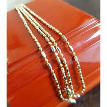 Elegante Cadena Oro De 14k 55.7 Cm 4.0 Gramos