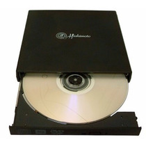 Quemador Portatil De Cd Dvd Rw Externo Usb 2.0 Slim Drive