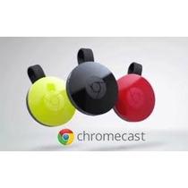 Google Chromecast 2da Generacion Smart Tv Usb Cargador Orig!