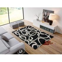 Carpeta Alfombra Gemas Black 150 X 200 Cm Living Fundasoul