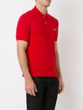 8bf3787907c18 Camisa Pólo Manga Curta Cor Principal Vermelho Masculinas em Santos ...