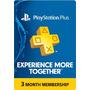 Psn Plus 3 Meses Para Playstation Ps4 / Ps3 / Ps Vita