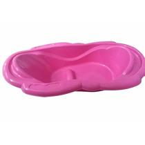 Bañera Tipo Ponchera En Rosado Y Azul