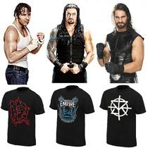 Wwe Polos Seth Rollins, Roman Reigns, Dean Ambrose Y Mas
