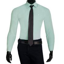 Camisa Social Masculina Promoção Original Preta Frete Grátis