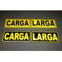 Carga Larga Stickers Calcomanias Reflectivas