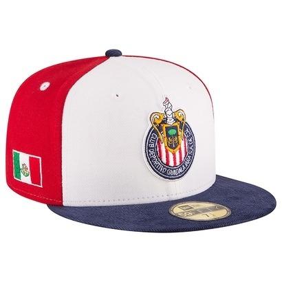 c19cfc2d7a1a6 Gorra New Era 5950 Chivas Guadalajara 2016 Original 100%! -   850.00 ...
