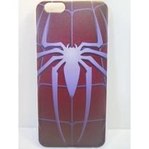 Protector Case Silicona Dura Iphone 6 6s Hombre Araña