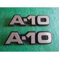 Par Emblema Paralama A10 A-10 Bonanza 85 / 89 - Original Gm