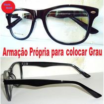 Armação Para Óculos De Grau Geek Nerd Próprio P/ Receituário