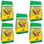 Kit Ração Nativos Pássaros Sabiá Azulão Com 5 Pacotes De 5kg
