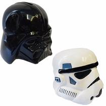 Combo De 2 Alcancias Darth Vader + Storm Trooper + Cocoa