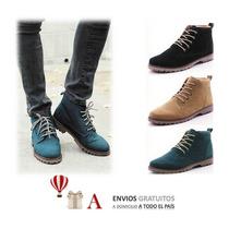 Calzado Hombre Botines Loafers Koreanas Amazing
