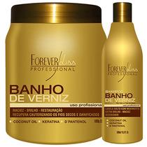 Banho Verniz Hidratação Profissional C4 Forever Liss 1 Kg -