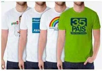 Camisetas Para Campaña Politica Con Logo Incluido Al X Mayor - U S 1 ... 84593bc42da37