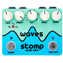 Pedal Stomp Audio Labs Waves Tremolo Com Tap Tempo + Frete