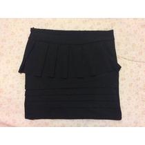 Minifalda Con Olanes