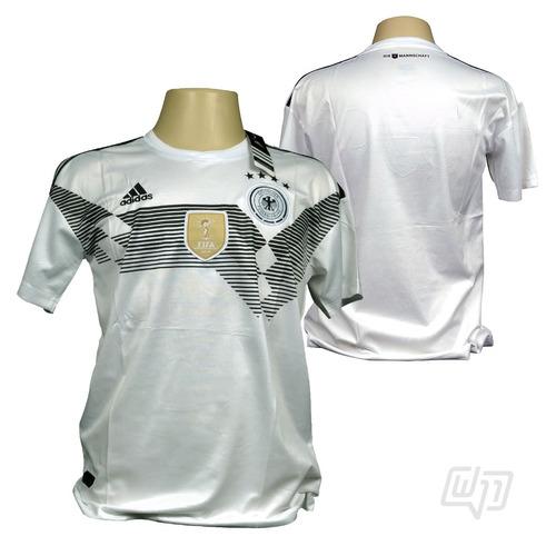 Camisa Alemanha adidas Titular Copa 2018 - R  139 0d51e674e2585