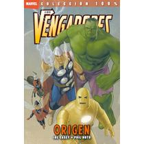 100% Marvel. Los Vengadores Origen - Panini