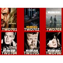 The Walking Dead- Caderno 1 Matéria - Capas Da 7ª Temporada