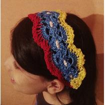Cintillos Venezuela, Bandanas Y Balacas Tejidos En Crochet