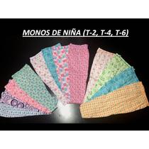 Monitos, Monos Infantiles (t-2, T-4, T-6) Mayor Y Detal