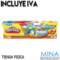 Plastilina Play Doh Kit De 4 Potes - 22114